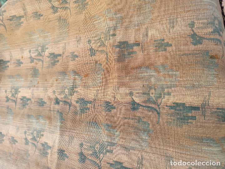 Antigüedades: Cuatro antiguas cortinas verdes - Foto 10 - 207868787