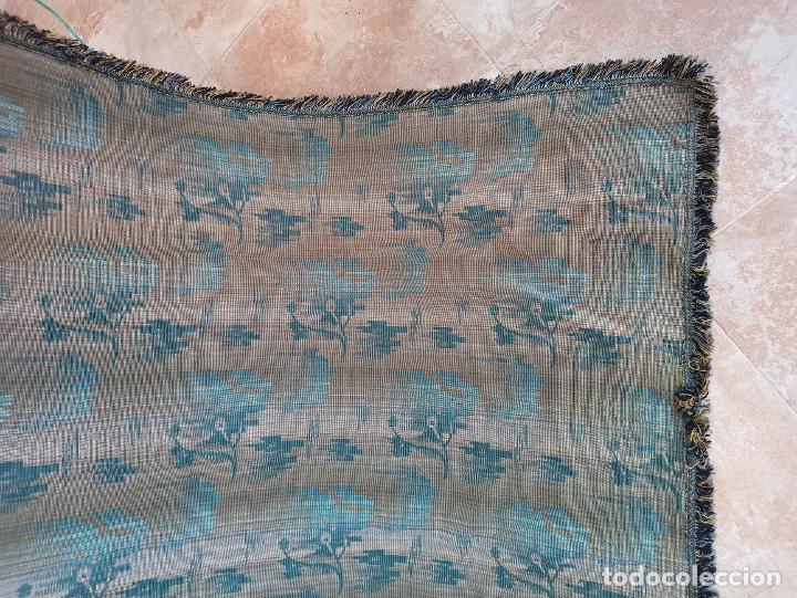 Antigüedades: Cuatro antiguas cortinas verdes - Foto 21 - 207868787