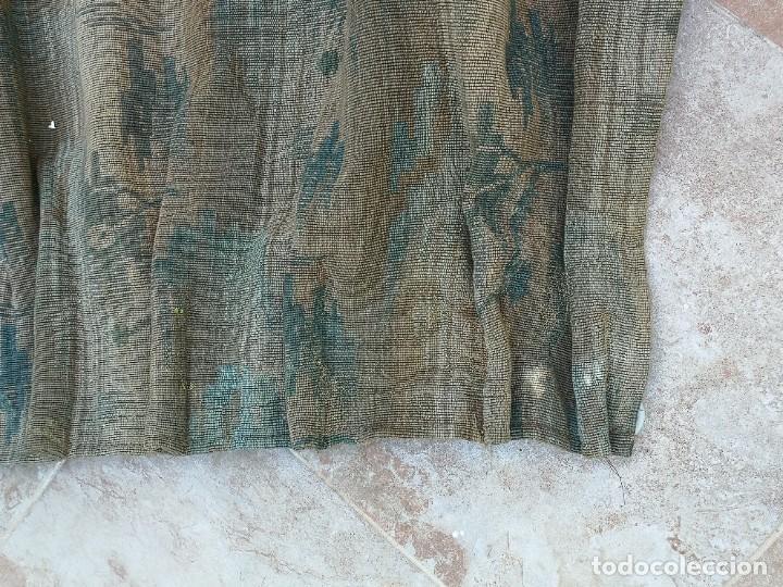 Antigüedades: Cuatro antiguas cortinas verdes - Foto 23 - 207868787
