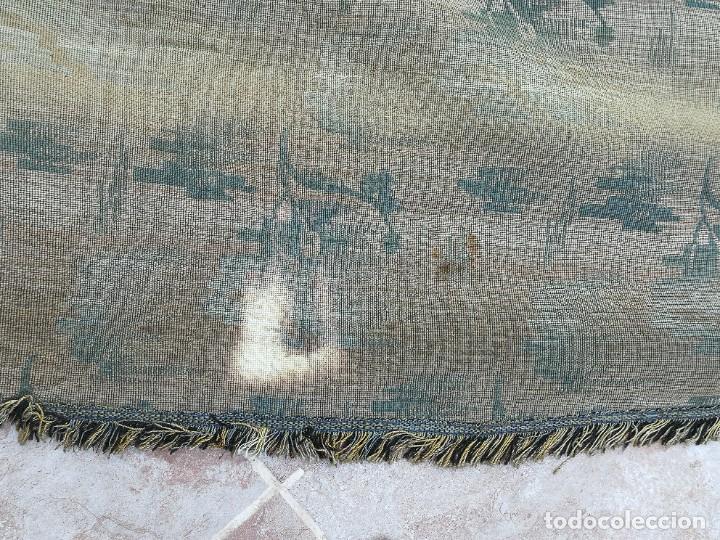 Antigüedades: Cuatro antiguas cortinas verdes - Foto 24 - 207868787