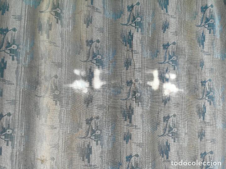 Antigüedades: Cuatro antiguas cortinas verdes - Foto 26 - 207868787