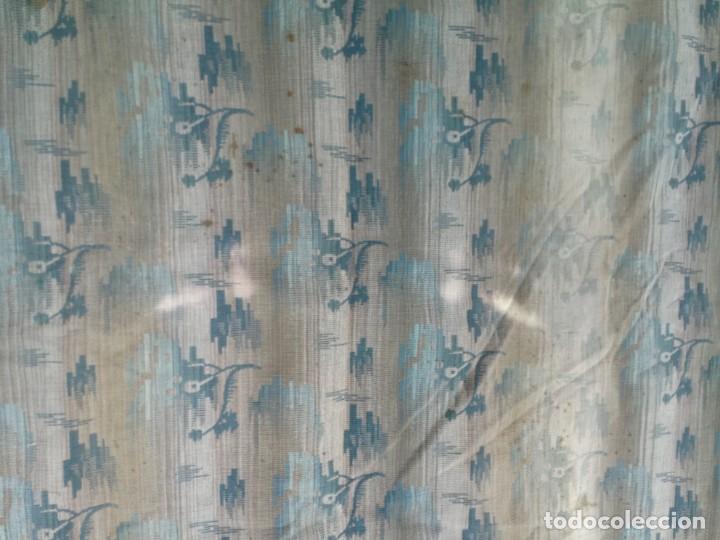 Antigüedades: Cuatro antiguas cortinas verdes - Foto 27 - 207868787