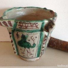 Antigüedades: MORTERO DE TERUEL ANTIQUA.. Lote 207910656