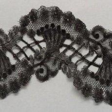 Antigüedades: ANTIGUO ENCAJE DE CHANTILLY S. XIX. Lote 207915458