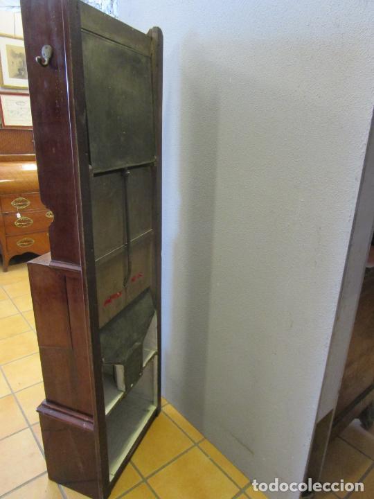 Antigüedades: Antiguo Mueble de Barco - Compañía Trasatlántica Vapores Correos, Barcelona - Madera Caoba - S. XIX - Foto 43 - 207929101