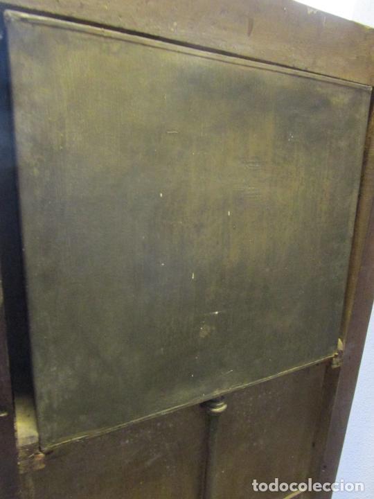Antigüedades: Antiguo Mueble de Barco - Compañía Trasatlántica Vapores Correos, Barcelona - Madera Caoba - S. XIX - Foto 44 - 207929101
