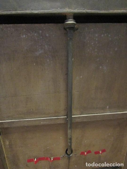 Antigüedades: Antiguo Mueble de Barco - Compañía Trasatlántica Vapores Correos, Barcelona - Madera Caoba - S. XIX - Foto 45 - 207929101