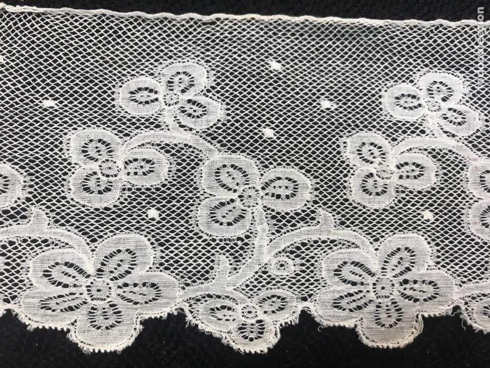 PUNTILLA VALENCIENNE 1,75M (Antigüedades - Moda - Encajes)