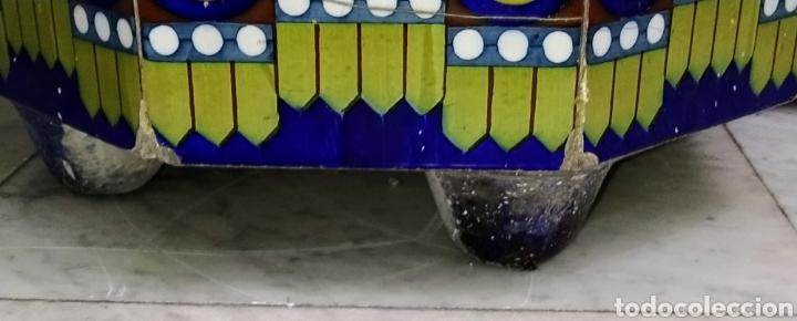Antigüedades: Magníficos maceteros de azulejos modernistas. Final siglo XIX. - Foto 17 - 207986240