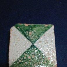 Antiquités: AZULEJO VALENCIANO CERAMICA SIGLO XVI MANISES. Lote 208035373