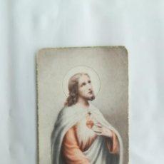 Antigüedades: CORAZÓN DE JESÚS. ESTAMPITA (10X6). Lote 208037600