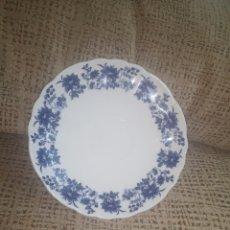 Antigüedades: PLATO SAN CLAUDIO PRINCIPADO BLUE BOUQUET. Lote 208059877