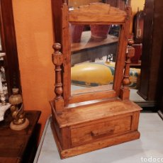 Antigüedades: TOCADOR PEQUEÑO ANTIGUO RÚSTICO. Lote 208067541