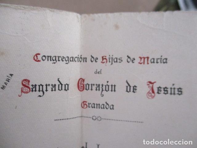 Antigüedades: Congregación de hijas de María de Sagrado Corazón de Jesús - Granada - Foto 2 - 208070982