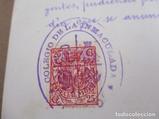 Antigüedades: Colegio la Inmaculada - Examen de Ingreso - 1938 - Foto 2 - 208071422