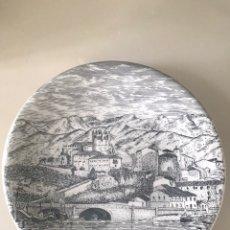 Antigüedades: PLATO SAN VICENTE DE LA BARQUERA. Lote 208093593