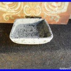Antigüedades: MACETERO O JARDINERA DE TERRACOTA. 29 X 29 CM. Lote 208106445