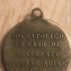 Antigüedades: MEDALLA ANTIGUA RELIGIOSA. Lote 208111445