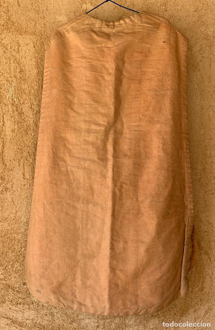 Antigüedades: ANTIGUA CASULLA SIGLO XIX .. M GARIN , HIJOS .MADRID . SOCIEDAD ECONOMICA AMIGOS DEL PAIS VALENCIA - Foto 16 - 208119987