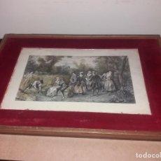 Antigüedades: CURIOSO Y BONITO GALAN DE NOCHE DE COLGAR. Lote 208141078