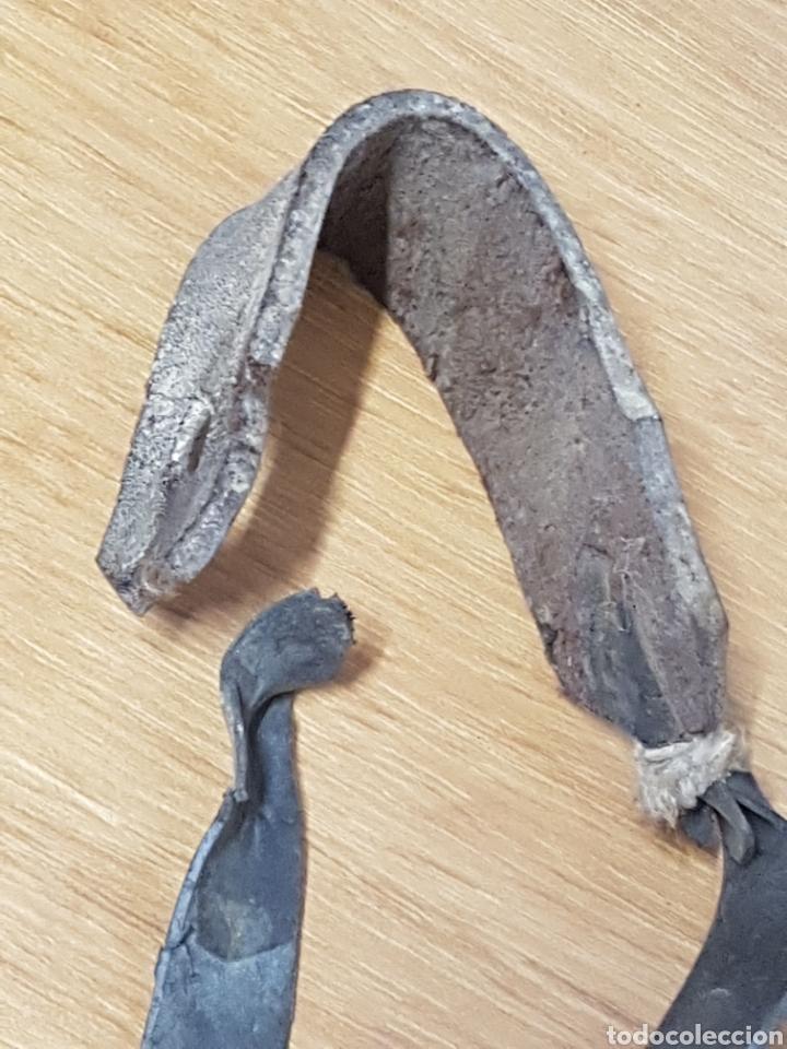 Antigüedades: Singular tirachinas arte pastoril de pastor madera - Foto 7 - 208154328