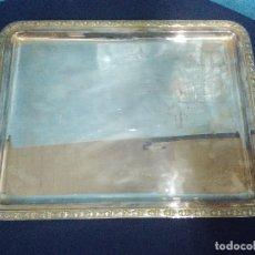 Antigüedades: BANDEJA ALPACA HIJOS DE ALFREDO ALVAREZ BILBAO. Lote 208161931