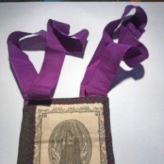 Antigüedades: ESCAPULARIO Nª Sª DE LOS DOLORES. Lote 208188431