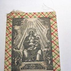 Antigüedades: ESCAPULARIO Nª Sª DE LA FLOR DE LIS. Lote 208189632