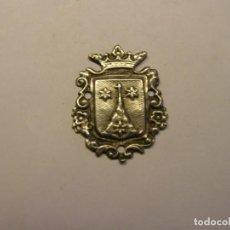 Antigüedades: ANTIGUA MEDALLA RELIGIOSA DE PLATA, CARMELITA. PARA COSER EN ROPA. SIGLO XIX.. Lote 208204612
