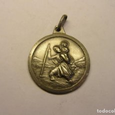 Antigüedades: ANTIGUA MEDALLA RELIGIOSA DE SAN CRISTOBAL, Nº 16.. Lote 208206725