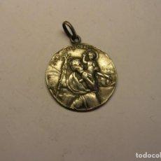 Antigüedades: ANTIGUA MEDALLA RELIGIOSA DE SAN CRISTOBAL, Nº 19.. Lote 208208492
