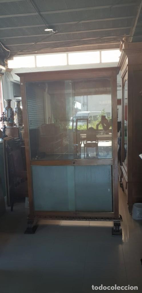 Antigüedades: Mesa de despacho / Escritorio de nogal - Foto 5 - 183067450