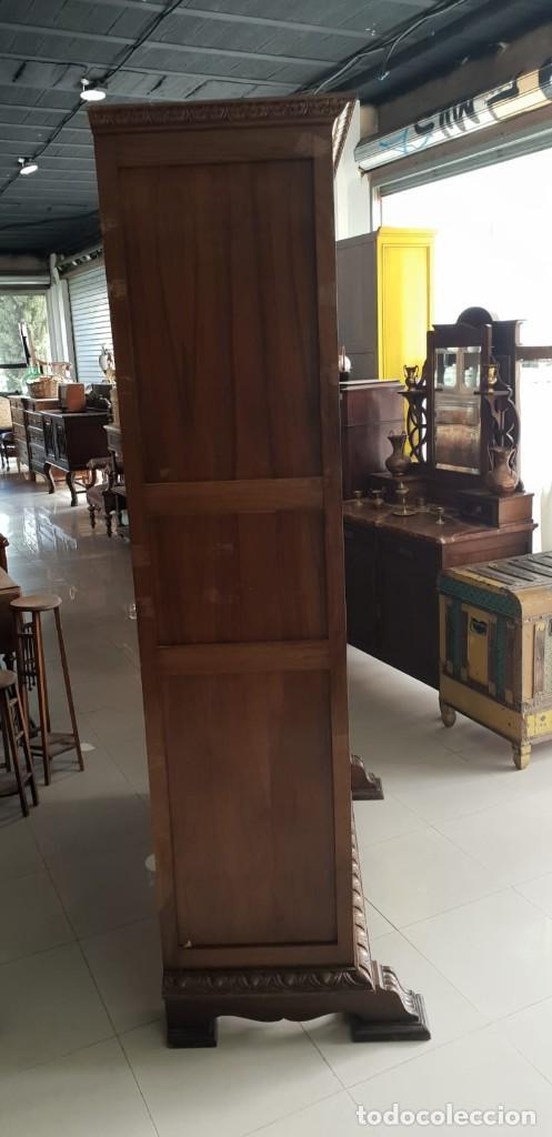 Antigüedades: Mesa de despacho / Escritorio de nogal - Foto 6 - 183067450