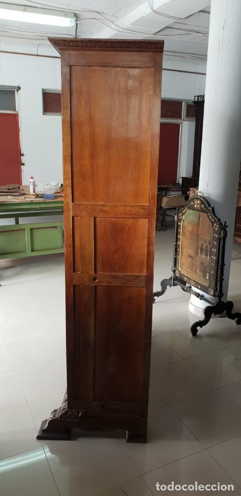 Antigüedades: Mesa de despacho / Escritorio de nogal - Foto 8 - 183067450