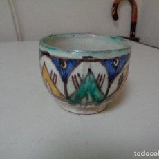 Antigüedades: CUENCO O ESCUDILLA CERÁMICA ARAGONESA. Lote 208284262