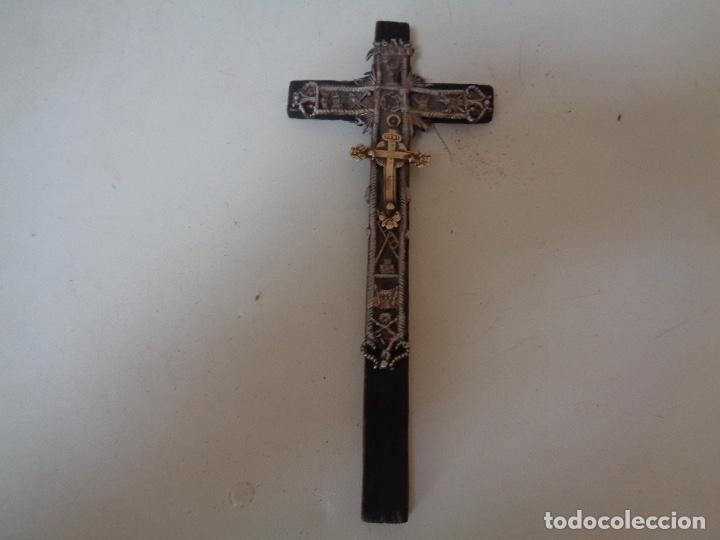 ANTIGUO CRUCIFIJO (Antigüedades - Religiosas - Crucifijos Antiguos)