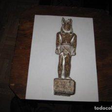 Antigüedades: FIGURA DIOS EGIPCIO DE UNA SOLA PIEZA EN GRANITO O SIMILAR PERFECTO ESTADO. Lote 208308248