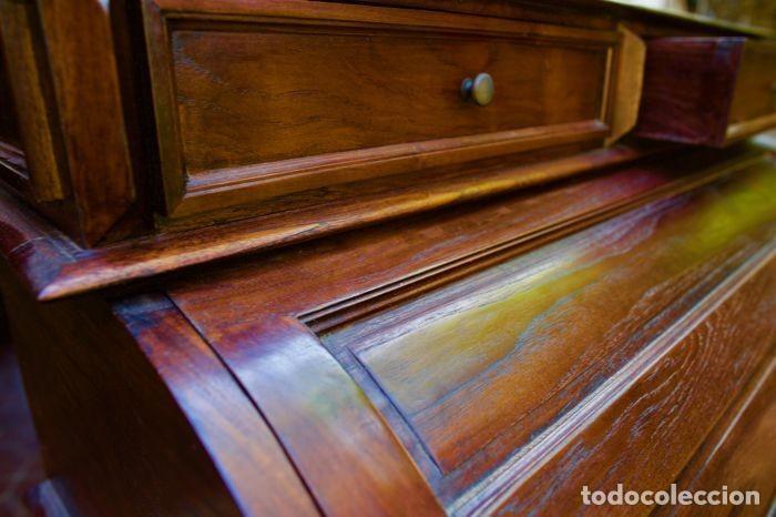 Antigüedades: Mueble Bureau a cilindro S.XX - Foto 6 - 208315188