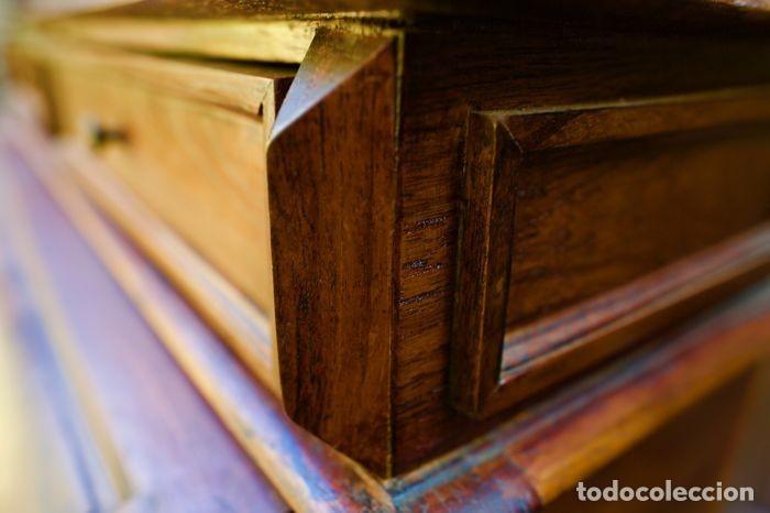 Antigüedades: Mueble Bureau a cilindro S.XX - Foto 7 - 208315188