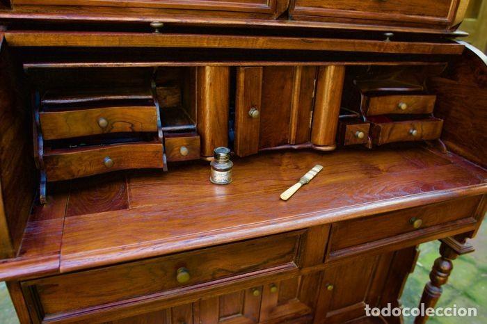 Antigüedades: Mueble Bureau a cilindro S.XX - Foto 8 - 208315188