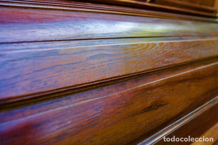 Antigüedades: Mueble Bureau a cilindro S.XX - Foto 10 - 208315188