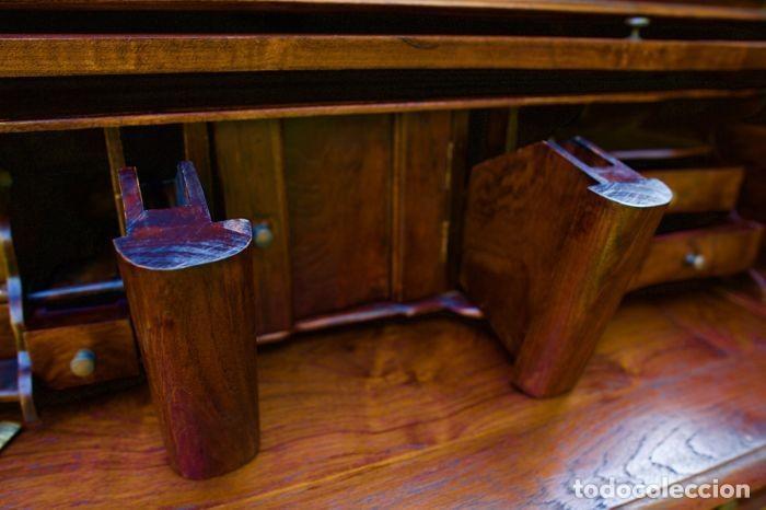 Antigüedades: Mueble Bureau a cilindro S.XX - Foto 11 - 208315188
