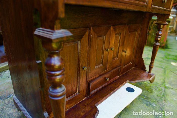 Antigüedades: Mueble Bureau a cilindro S.XX - Foto 12 - 208315188