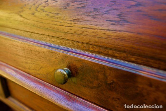 Antigüedades: Mueble Bureau a cilindro S.XX - Foto 13 - 208315188