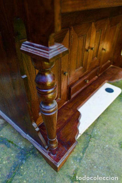 Antigüedades: Mueble Bureau a cilindro S.XX - Foto 15 - 208315188