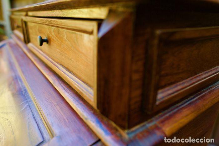 Antigüedades: Mueble Bureau a cilindro S.XX - Foto 16 - 208315188