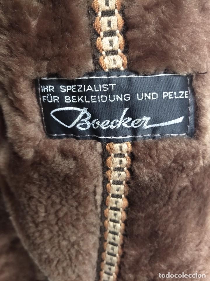 Antigüedades: Antiguo abrigo de piel de la marca Boecker. IHR SPEZIALIST FÜR BEKLEIDUNG UND PELZE. - Foto 4 - 208322725