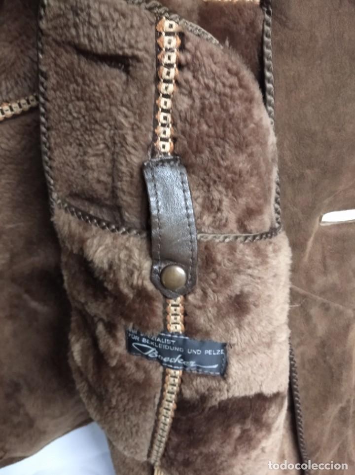 Antigüedades: Antiguo abrigo de piel de la marca Boecker. IHR SPEZIALIST FÜR BEKLEIDUNG UND PELZE. - Foto 5 - 208322725