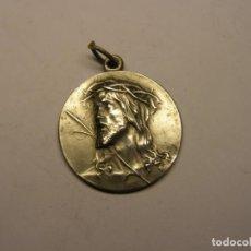 Antigüedades: ANTIGUA MEDALLA RELIGIOSA DE JESUCRISTO, JERUSALÉN.. Lote 208328412