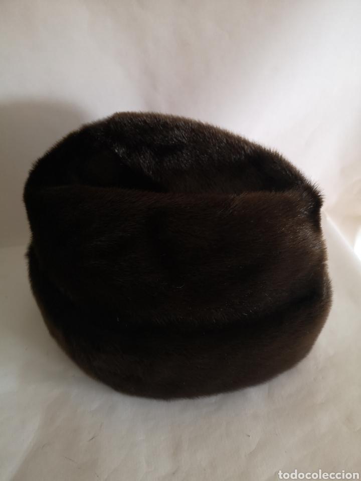 Antigüedades: Gorro caballero piel pelo - Sombrero hombre Alemania - Foto 4 - 208433747